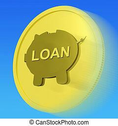 or, moyens, prêt, emprunt, ou, crédit, monnaie, investissement