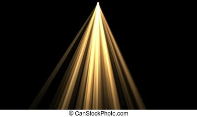 or, rayon, lumière, lumière soleil