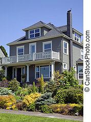 or., residencial, portland, casa