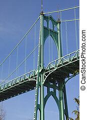 or., st. 。 ジョン, ポートランド, 橋