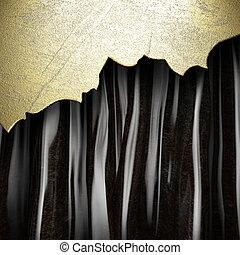 dor rideau noir dor blanc arri re plan noir rideau images de stock rechercher des. Black Bedroom Furniture Sets. Home Design Ideas
