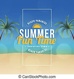 ora legale, fondo, paradiso, divertimento, spiaggia