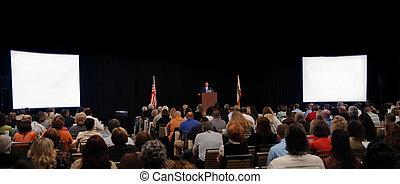 orador, convenção