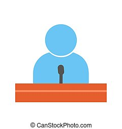 orador huésped