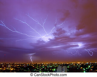 orage, éclair