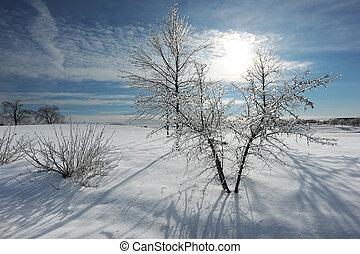 orage glace