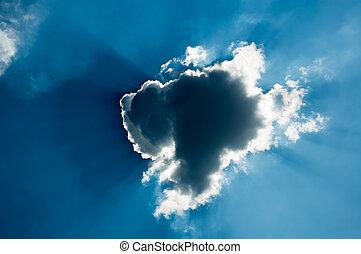 orageux, nuage