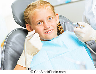Oral cavity inspection