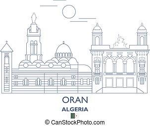 Oran City Skyline, Algeria