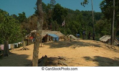Orang Asli Village | Belum Rainforest, Malaysia - Wide...