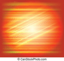 Orange abstract background light