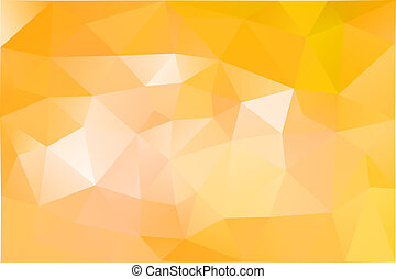 Orange abstract background, vector illustration