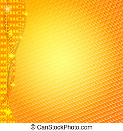 Orange abstract design background for business