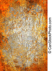 orange abstract grunge background texture for multiple uses