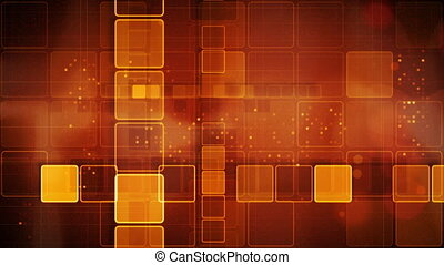orange abstract loopable background