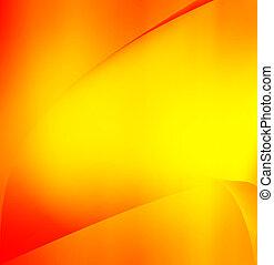 orange, abstrakt, bunte, hintergrund