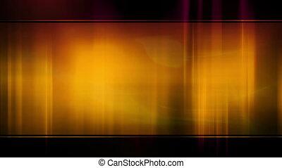 orange, abstrakt, rahmen, rotes , schleife