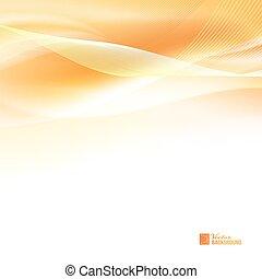 orange, abstrakt, wind.