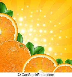 orange, affiche