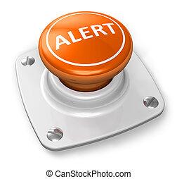 Orange alert button