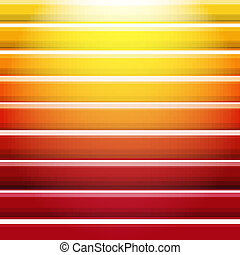 Orange And Red Background With Line