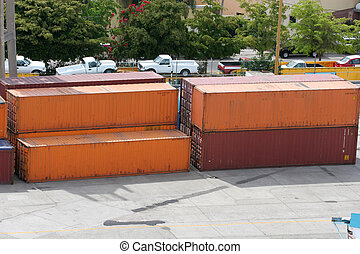 Orange and Red Freight