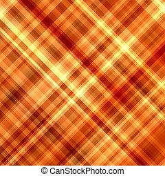 Orange and yellow color pixels diagonal mosaic background.