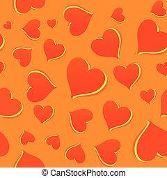 Orange Background Pattern