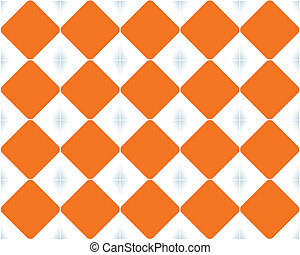 orange background, vector