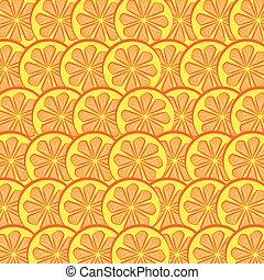 Orange background. Vector illustration