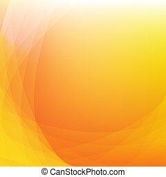 Orange Background With Line
