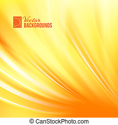 Orange background with smooth waves