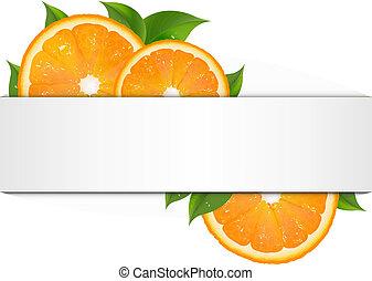 orange, bannière