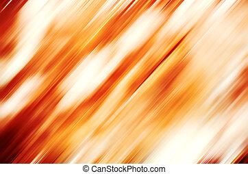 orange, bewegung, abstrakt, hintergrund