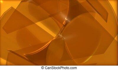 orange, bewegung