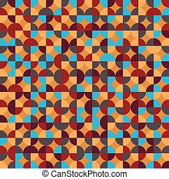orange blue abstract background
