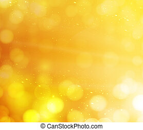 orange bokeh lights. abstract background