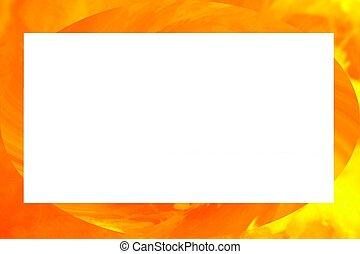 orange border