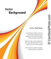 orange, broschüre, hintergrund