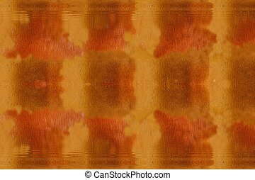 Orange brown background with reflection