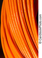 orange, câble