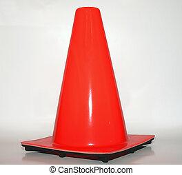 orange, cône sûreté