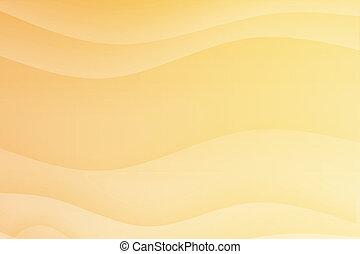 orange, calmer, courbes, calmer