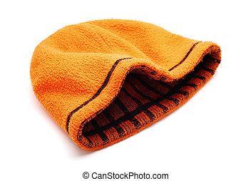 orange cap isolated