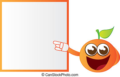 orange cartoon