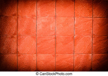 Orange cement wall texture.