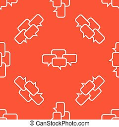 Orange chat conference pattern
