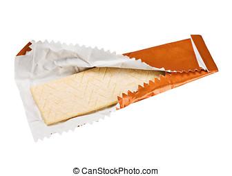 orange chewing gum