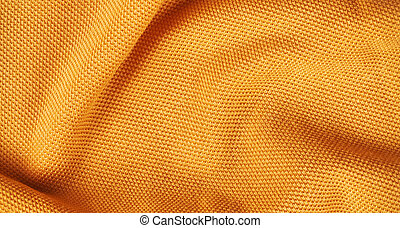 Orange cloth background