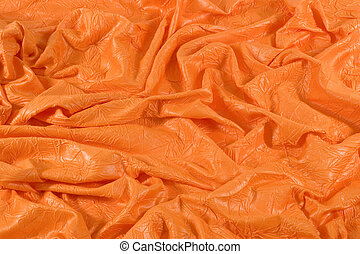 Orange Cloth Background